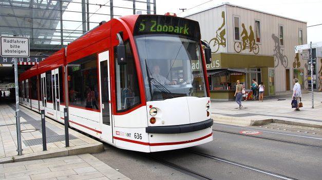 Bus und Stadtbahnen