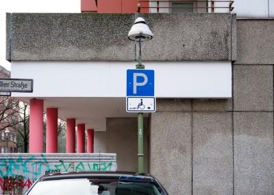 Parkplätze für Schwerbehinderte in Erfurt
